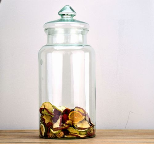Tall Glass Jar 43.5cm
